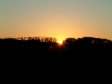 One of our beautiful sunrises